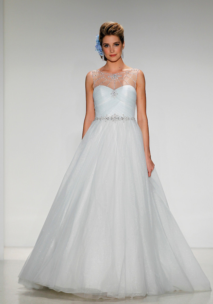 2015 disney s fairy tale weddings dress collection for Wedding dress disney collection