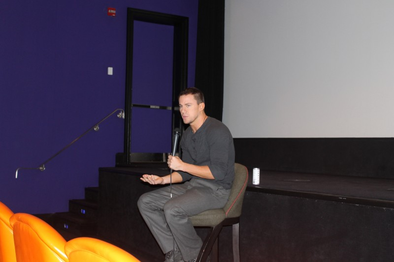 Channing Tatum at The Book of Life Press Conference (Photo by Geraldine Estevez)