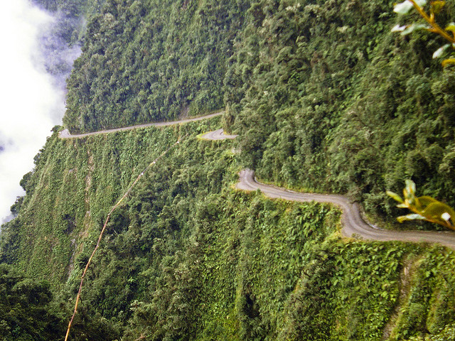Yungas Road (Photo by Miguel Navaza)