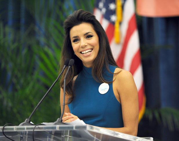EVA LONGORIA- WOMAN FOR SENATE?