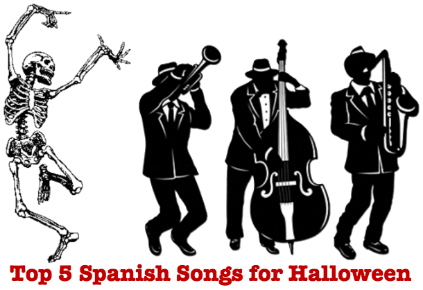 top 5 spanish songs for halloween
