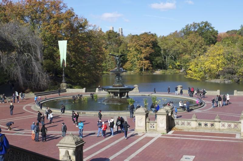 Bethesda Fountain in Central Park (Photo by Geraldine Estevez)