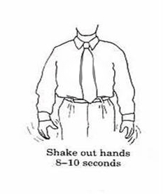 3) Shake Out Hands
