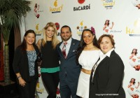 """Anna Demidova of WABC-TV's """"Dancing with the Stars""""  (2nd left)"""