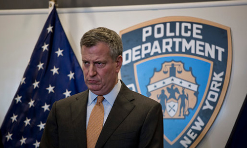 Mayor de Blasio vs. the NYPD: The tension between the Mayor and New York City Police Officers