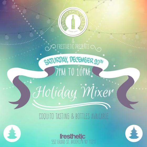 Fresthetic Holiday Mixer