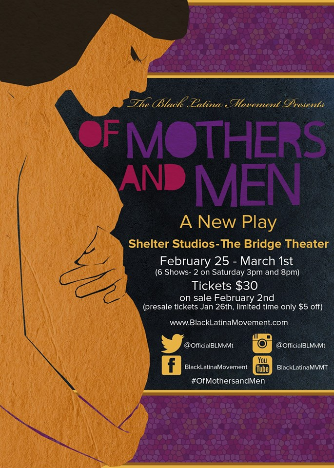 New Play 'Of Mothers and Men'!
