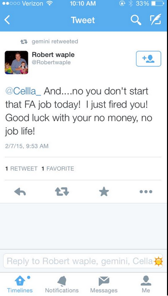 Girl Becomes Famous For Getting Fired on Twitter For Her Tweet
