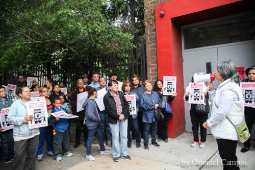 Latino Williamsburg Residents Protest Against Gentrification