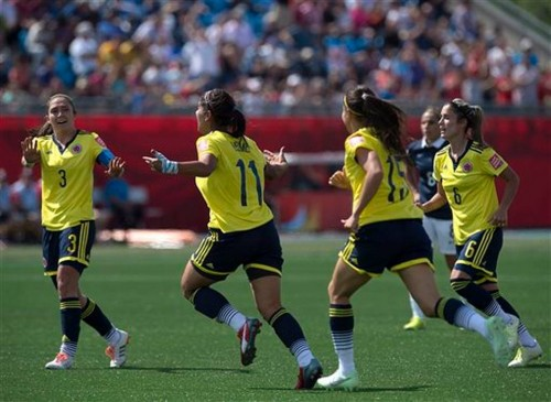 WWCUP France Colombia Soccer