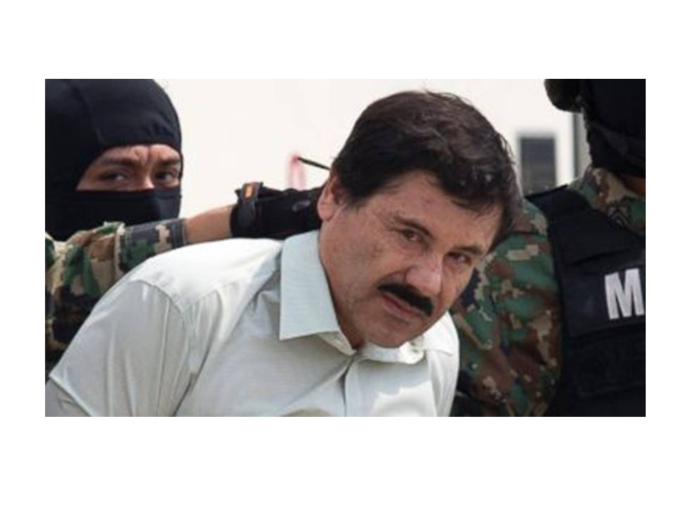 "El Chapo ""the world's most powerful drug lord"" Escapes Again & Trump Says He'll Kick his Ass!"