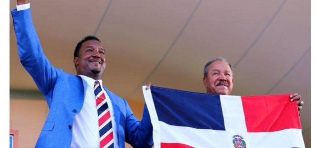 Pedro Martinez Shines like a Bright Star at his Historic Hall of Fame Ceremony
