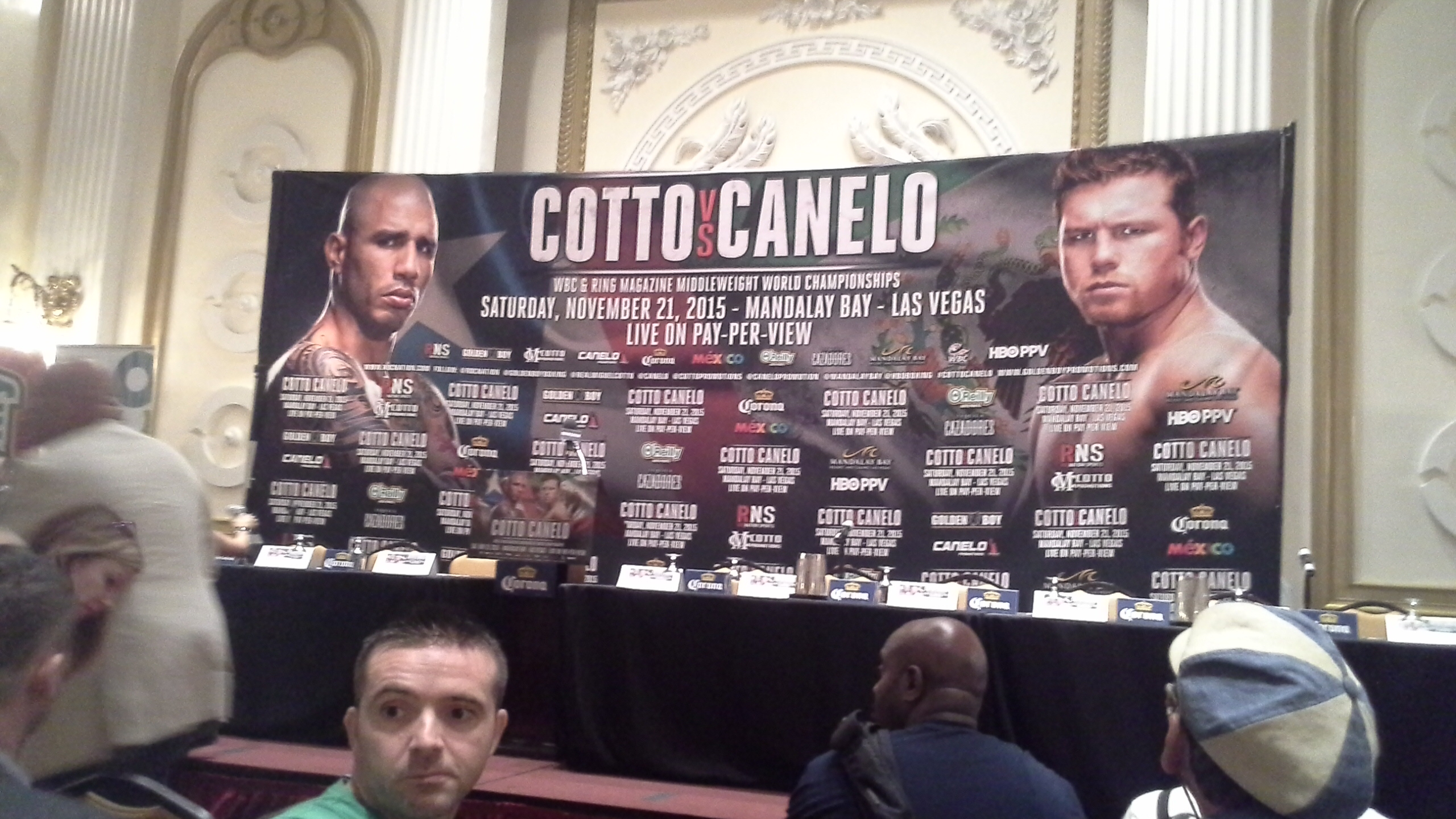MEXICO MAKES VOICE HEARD AT COTTO-CANELO PRESS CONFERENCE