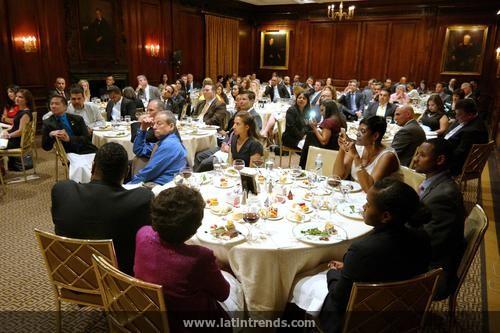 Photos of the Renaissance Dinner at The Harvard Club