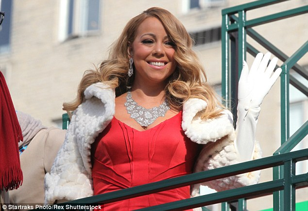 MARIAH CAREY IS 2015 THANKSGIVING PARADE PRINCESS