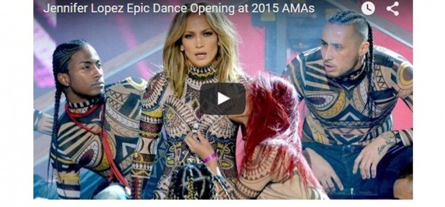 Jennifer Lopez Steals the Show at 2015 AMAs