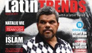 Luis Guzman on March Cover of LatinTRENDS Magazine