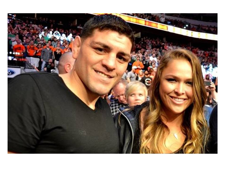 Video of Ronda Rousey & Nick Diaz Grappling on Mat