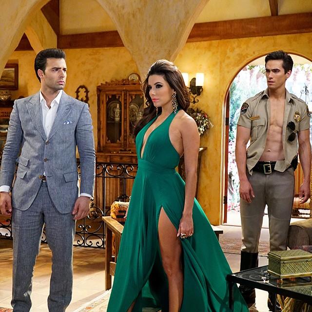 "Jose Romero Brooks Co-Stars with Eva Longoria in ""Telenovela"""