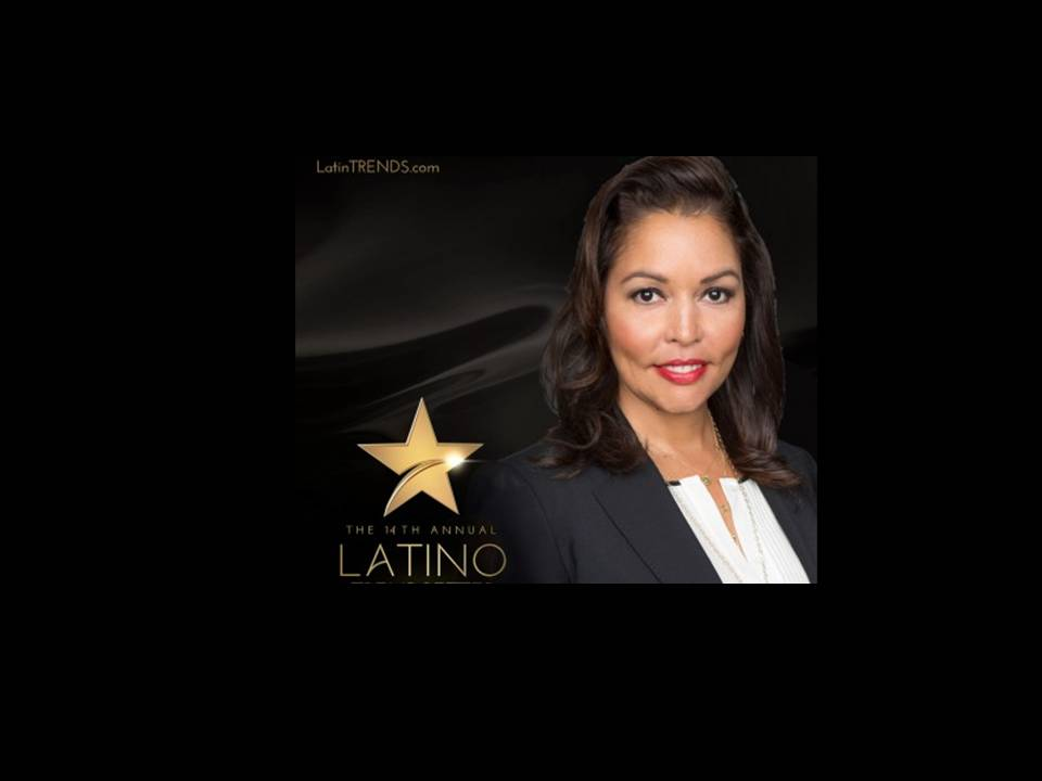 Lucinda Martinez, SVP HBO Announced as a 2016 Latino Trendsetter Awards Recipient.