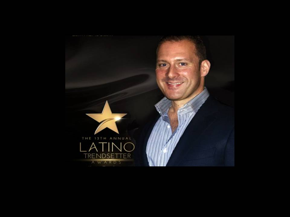 Founder and COO of Ai Media Group, Sergio Alvarez, Recognized at the 2016 Latino Trendsetter Awards