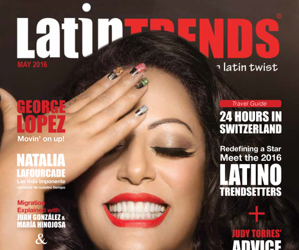 La Princesa de la Salsa –  La India Graces May Cover of LatinTRENDS Magazine