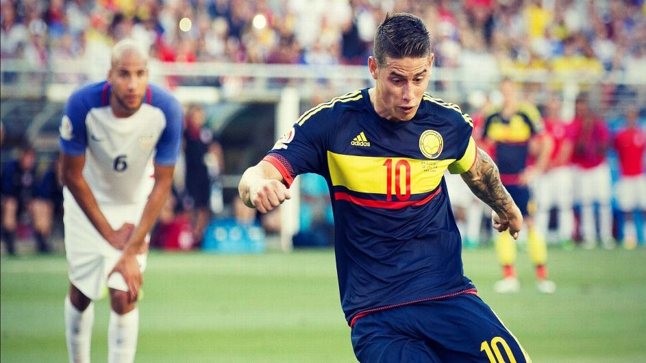 "U.S ""HANDS"" OVER OPENER TO COLOMBIA IN 100TH COPA AMERICA OPENER"