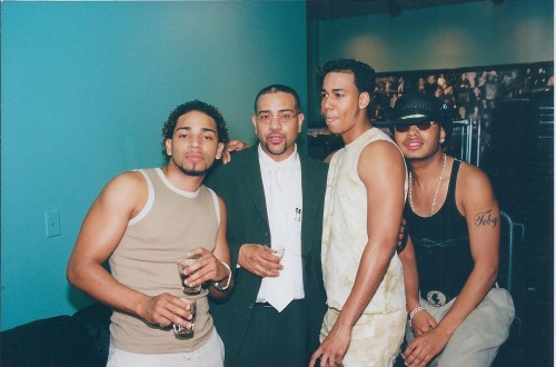 old photo - Aventura and JG