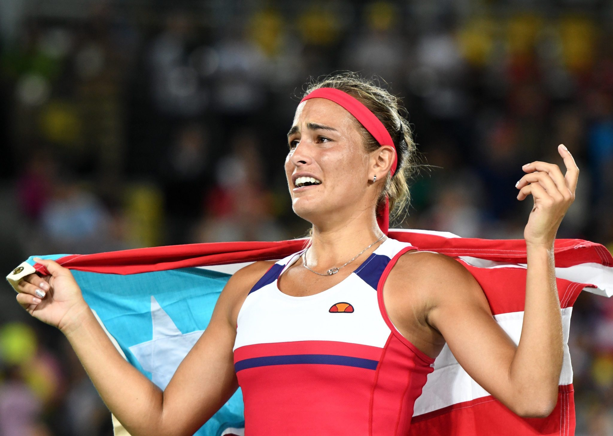 MONICA PUIG IS NOW THE GOLD STANDARD FOR PUERTO RICO