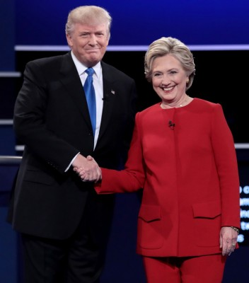trup-clinton-at-debate