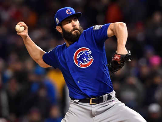 JAKE ARRIETA EVENS WORLD SERIES AT ONE