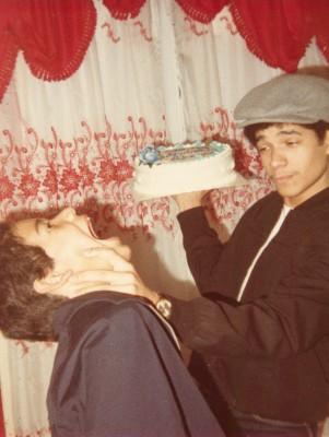 Los hermanos de el fotografo Richard Rosario cuando eran ninos