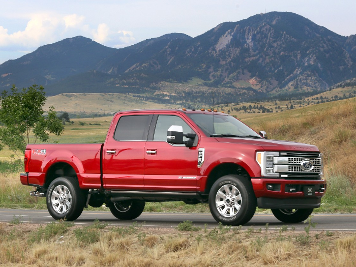 ALL-NEW FORD F-SERIES SUPER DUTY CUSTOMERS WANT HIGH-TECH FEATURES AND LUXURY