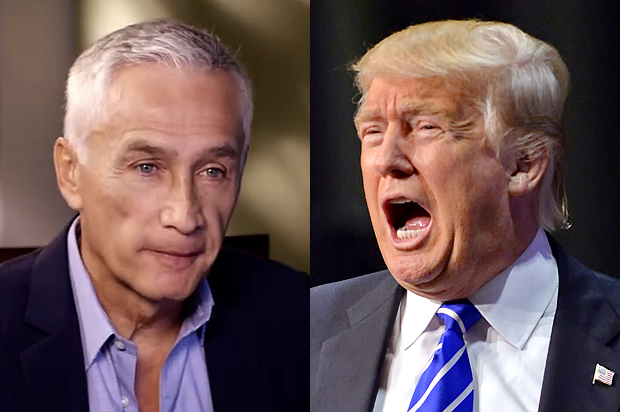 Univision's Jorge Ramos in danger of being Fired as Trump becomes President!