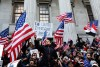 Massive Protest by Latinos, non-Latinos & Small Businesses In Support of