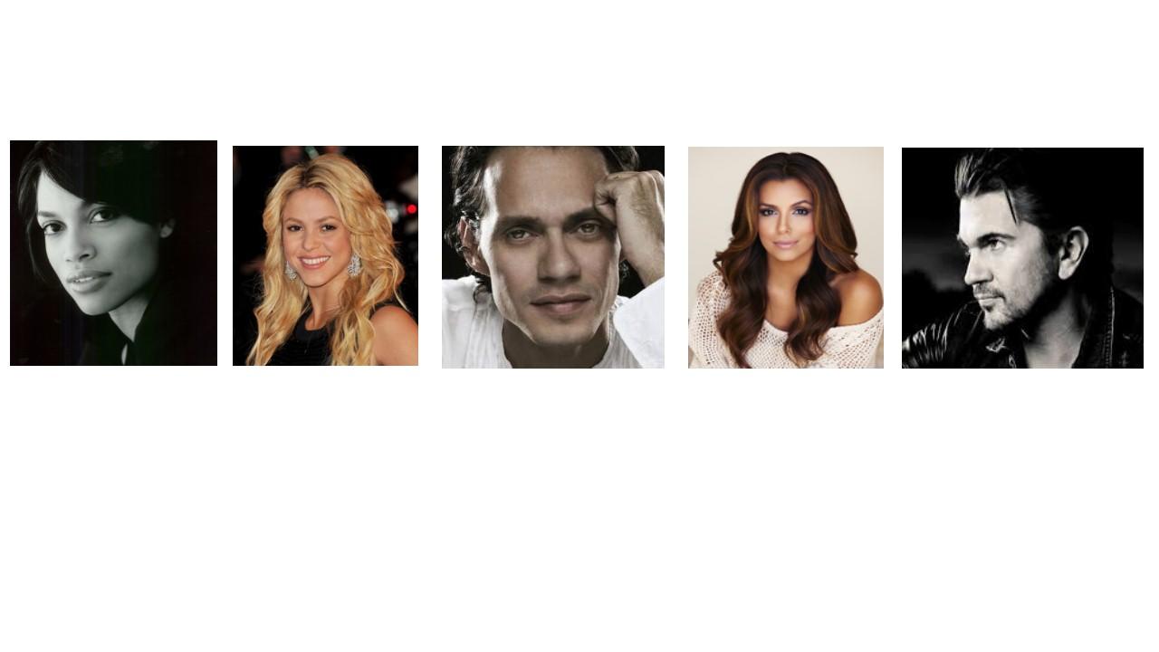 Philanthropic Latino Celebrities