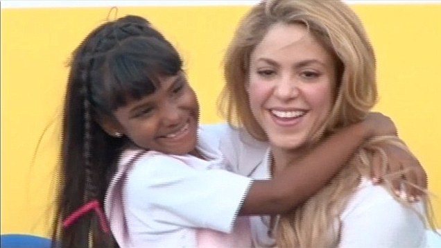 Shakira Opens another School in Colombia